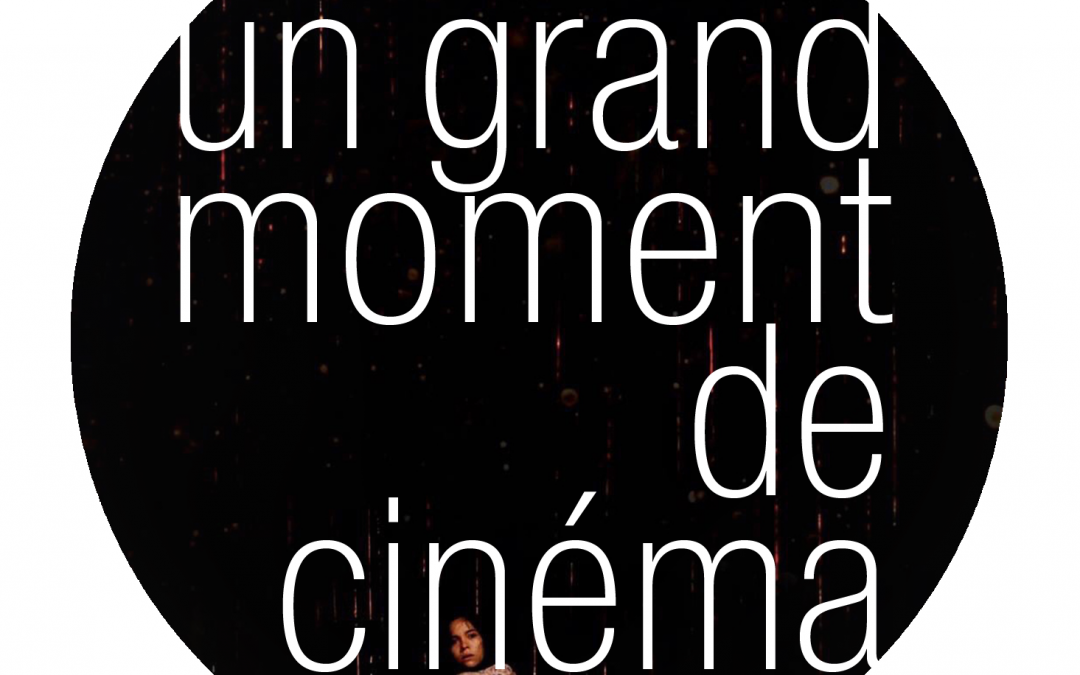 Un grand moment de Cinema